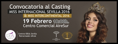 Beauty&Body Factory, presente en el Casting para la elección de las Finalistas de Miss International y Miss Intercontinental Sevilla 2016
